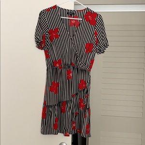 Madewell flower print dress